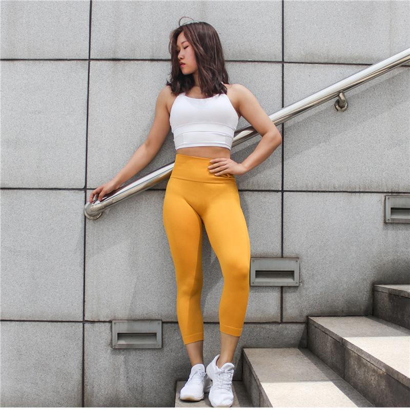 6510a585a1893 2019 Female Leggins Sport Women Booty Seamless Leggings For Fitness High  Waist Yoga Pants Sportswear Woman Gym Tights Sports Wear From Afd8789, ...