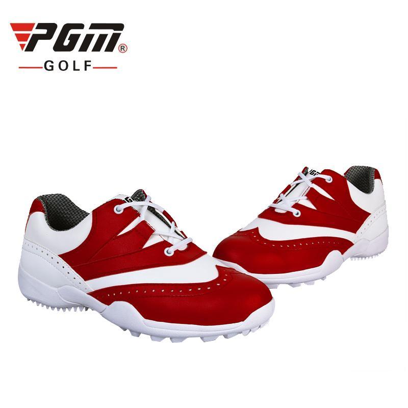 934e631995 Compre PGM Mujeres Zapatos De Golf Suave Poliuretano Marca Zapatillas De  Deporte Impermeables Zapatos De Golf Para Mujer Zapatos Charol Hombre A  $83.99 Del ...