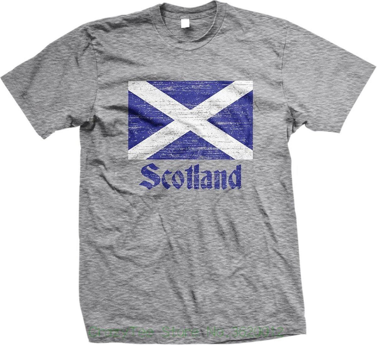 b0a869c9c8f Compre Rude Top Tee Cuello Redondo Bandera De Escocia, Bandera Escocesa,  Camiseta Para Hombre Saltire, Nofo Clothing Co. A $15.53 Del Liguo003    DHgate.Com