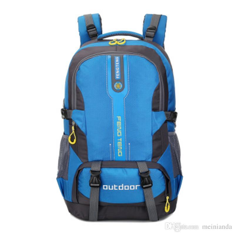 50L New Design Spring Waterproof Nylon School Backpacks For Teenagers Men Travel  Bag Packs Rucksack Sport Bags Mochila D33 Leather Backpack Laptop Backpack  ... 09f82fe15f31d