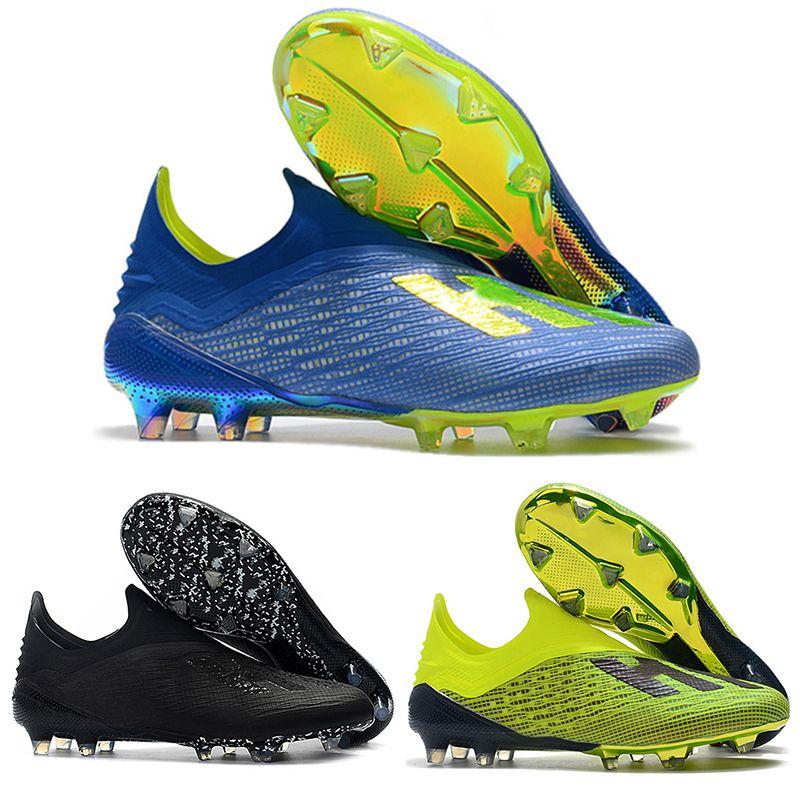 1324be237868b Compre Botas De Fútbol Para Hombre Con Bajo Tobillo X 18 Fg Zapatos De  Fútbol X 18+ Speedmesh X18 Botas De Fútbol Para Fútbol Con Malla Mesia  Speed mesh A ...