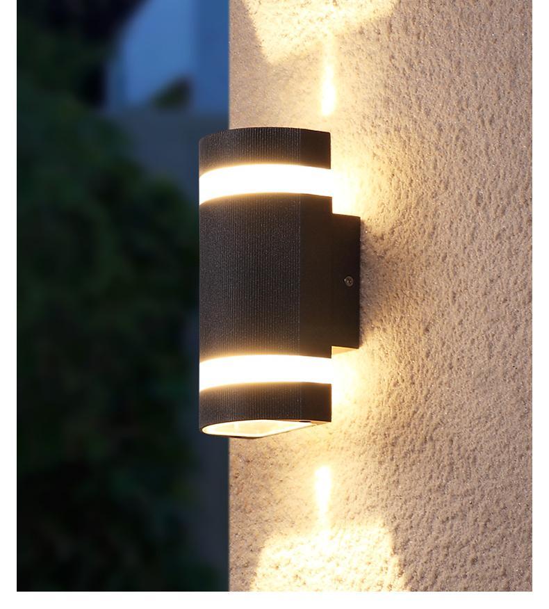 Compre 12W Lámpara Exterior Luz De Pared Al Aire Libre Luces Exteriores  Exterior Foco Verlichting Foco Exterior LED IP65 LED Iluminación De Fábrica  Al Por ... 84f1311e03b