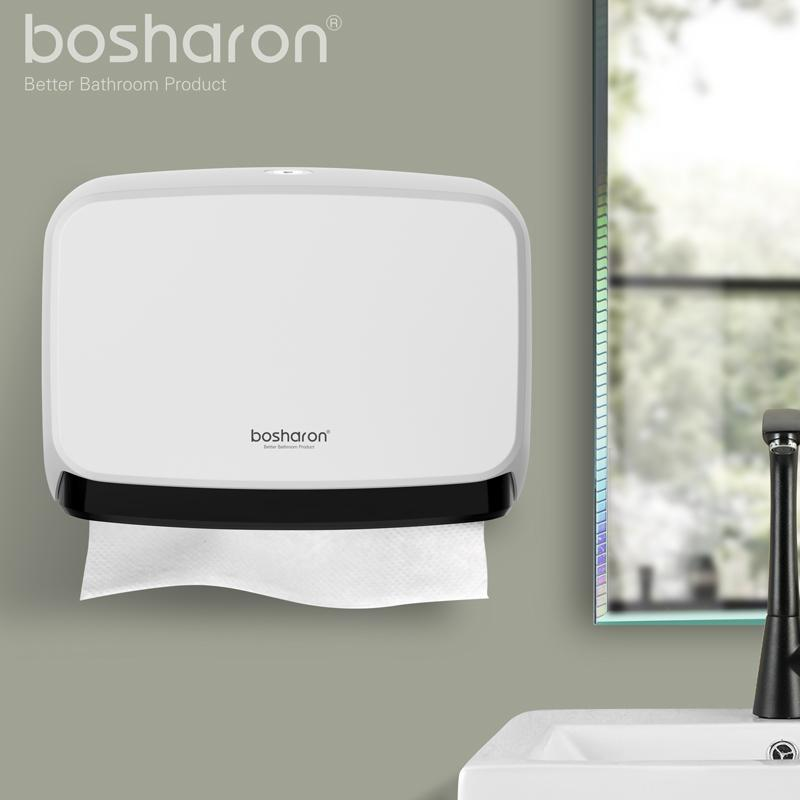 Genial 2018 Bathroom Kithen Paper Towel Dispenser Wall Mount New Abs Thick  Material Tissue Box Hand Paper Dispensers Holder Home Accessories From  Roberte, ...