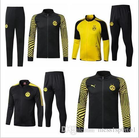 0fc23ed81a4c49 Compre 2018 Bundesliga Borussia Dortmund Jaqueta De Treino 18/19  Survetement REUS PULISIC M.GOTZE Dott Roupas Roupas Esportivas Jaqueta De  Treino De ...