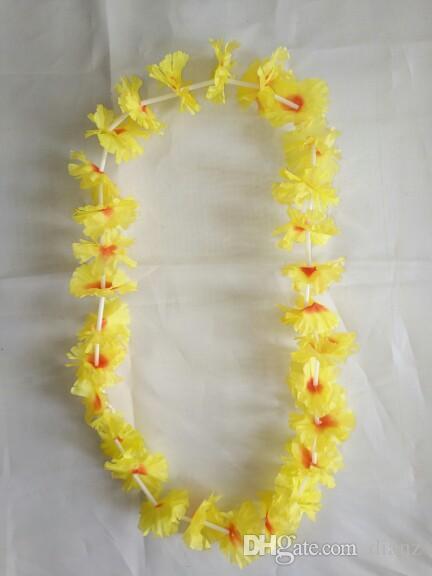 Moda Sıcak Parti Malzemeleri Ipek Hawai Çiçek Çiçeği Garland Hawaii Çelenk Amigo Ürünleri Hawaii Kolye
