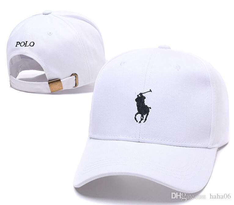 2a862cc6726f9 2018 Hot Fashion Retro Casquette Visor Polo Embroidery Bone Baseball Cap  Women Sport Gorras Snapback Caps Drake Yeezus 6 Panel God Polo Hats Make  Your Own ...
