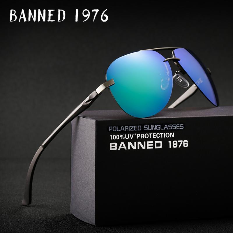 3c5ebd91750 Aluminum Magnesium HD Polarized Fashion Sunglasses Women Men Driving Sun  Glasses Vintage Oculos De Sol with Original Brand Box C18110601 Online with  ...