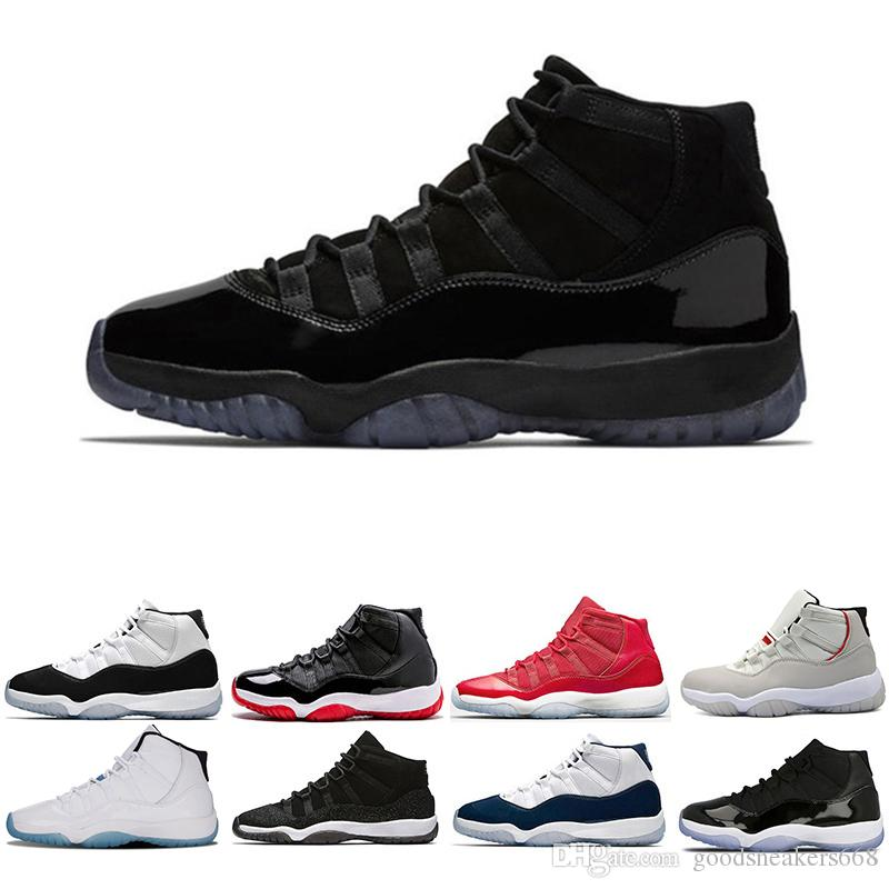 84224e34f0a8 Platinum Tint New Basketball Shoes 11 11s Cap And Gown Velvet Heiress Gym  Red Blue Spaces Concord 11S Authentic Men Sports Shoes Trainer Basketball  Shoes ...