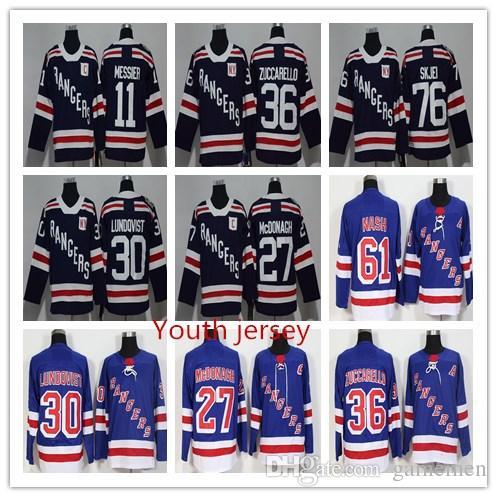 Youth New York Rangers 27 Ryan McDonagh 30 Henrik Lundqvist 36 Mats ... 00f1b67de