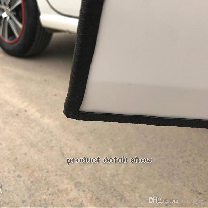 Car door anticollision free stick protect invisible seal strip