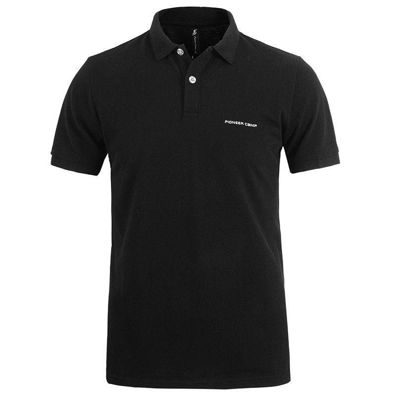 Mutter & Kinder Pioneer Camp Klassische Männer Polo-shirt Marke Kleidung Männer Kurzarm Casual Polo-shirt Atmungs 409010