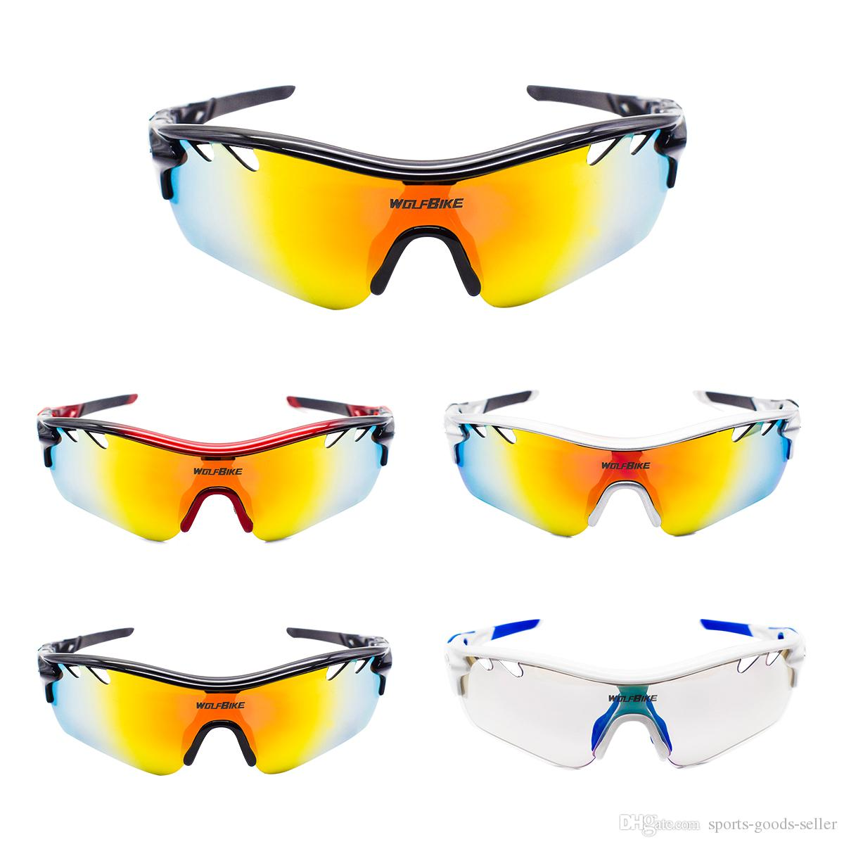 472dfe5d5d0 WOLFBIKE Polarized Glass Es MTB Mountain Bike 5 Len Glasses UV400 Sports  Bike Glass Es Run Fishing Driving Glass Myopia Cycling Glasses Bicycle  Glasses ...
