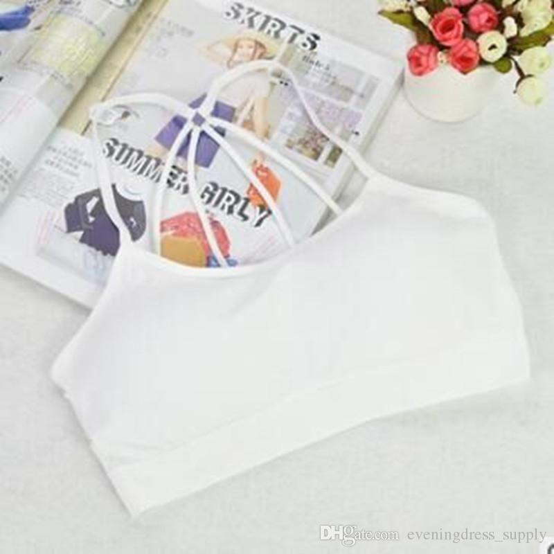 New style sports ladies' vest without steel ring, lady's brassiere, no trace sleep comfort underwear wholesale