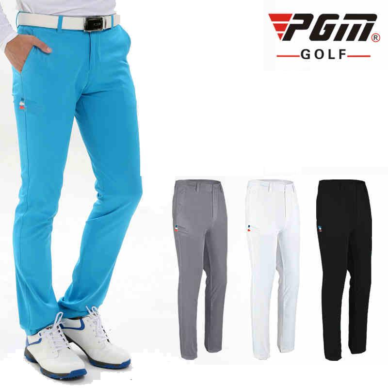 354441bdac4 2017 Men s Golf Pants Quick Dry Waterproof Sports Colorful Golf ...