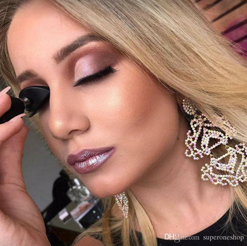 2018 neue heiße faule schnelle Augen Make-up Werkzeug HUADI Schönheit Stempel Falte Lidschatten HUADI Glitter Lidschatten Seal DHL frei