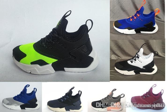 Kids Children Air Huarache Ultra Casual Shoes Sports Huarache for ... 19c0f6e0f