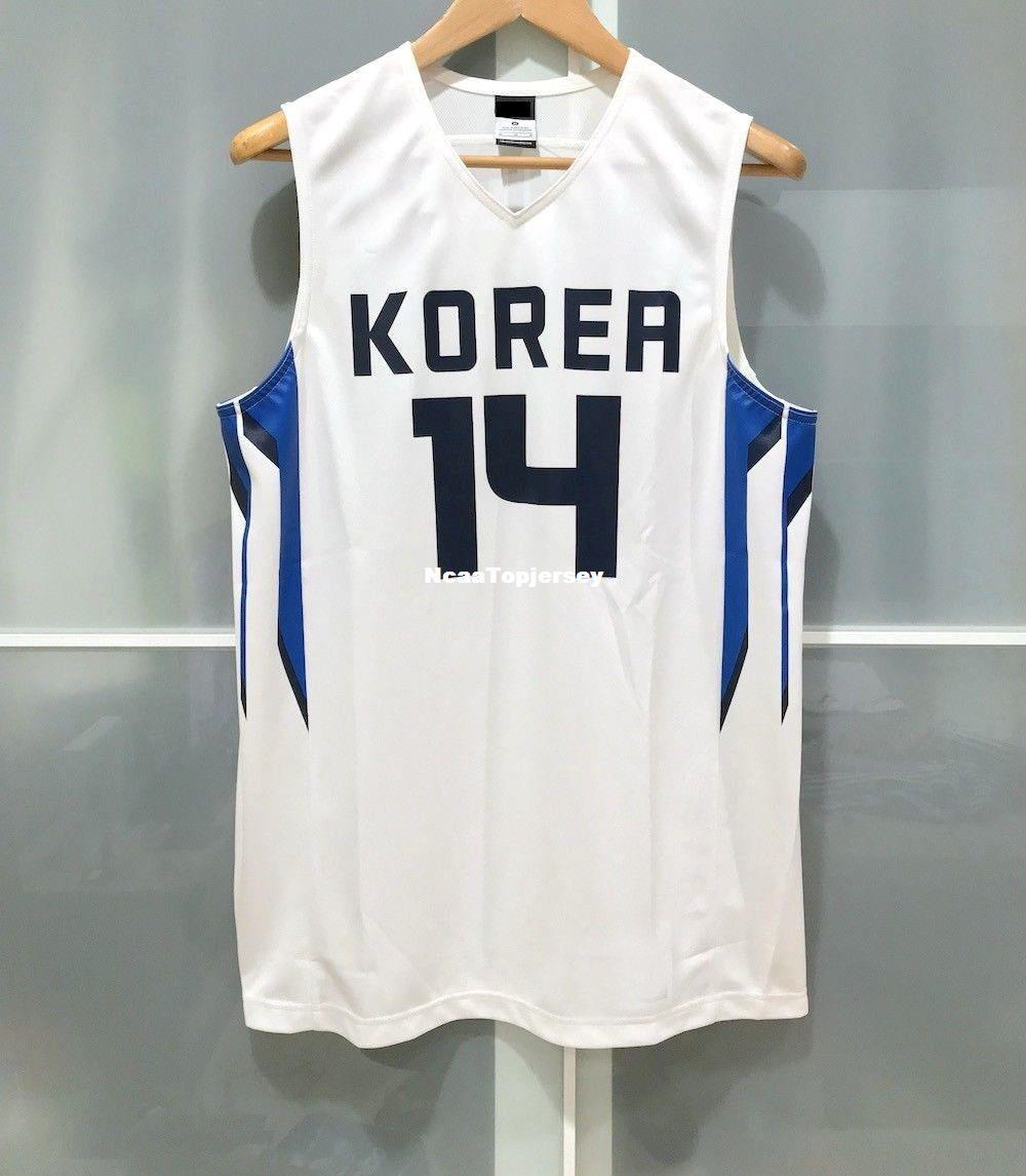Kupit Optom Deshevye Optovye Smith 14 Korea Basketball Jersey Fiba