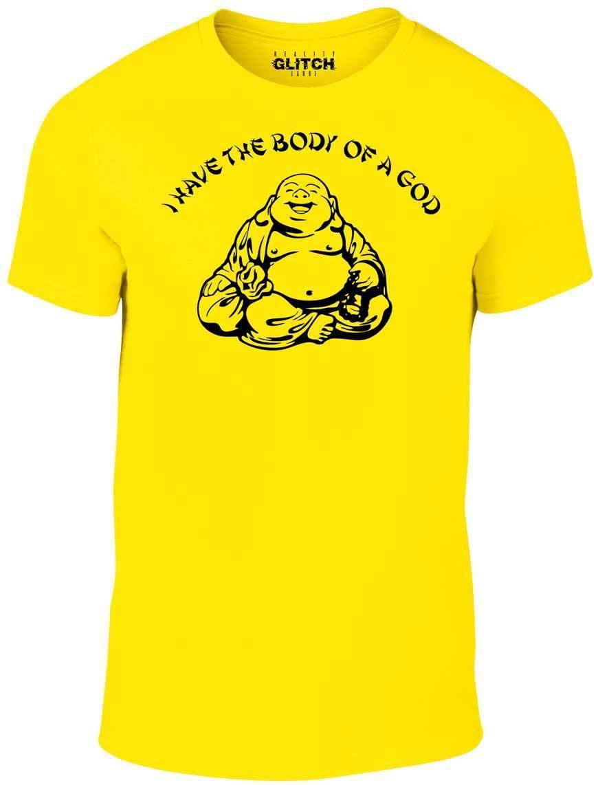66bf8b5a8 I Have The Body Of A God T Shirt T Shirt Funny Buddha Budda Banter Fat Food  Cool Casual Pride T Shirt Men Unisex New Fashion Designs For T Shirts  Awesome T ...