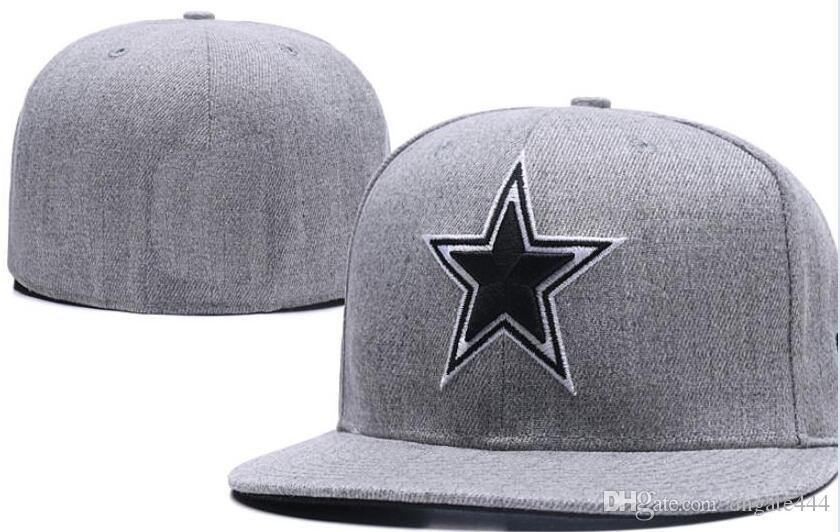 National Team Fitted Cowboys Hats Baseball Embroidered Team Letter Flat  Brim Hats Baseball Size Caps Sports Chapeu For Men Women Hatland Brixton  Hats From ... 41583a92878d
