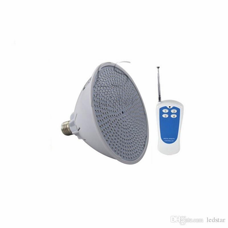Par56 RGB LED Yüzme Havuzu Ampul E27 12 V 120 V 220 V için Pentair Hayward Armatür 18 W 24 W 35 W akvaryum IP68 Uzaktan Ile