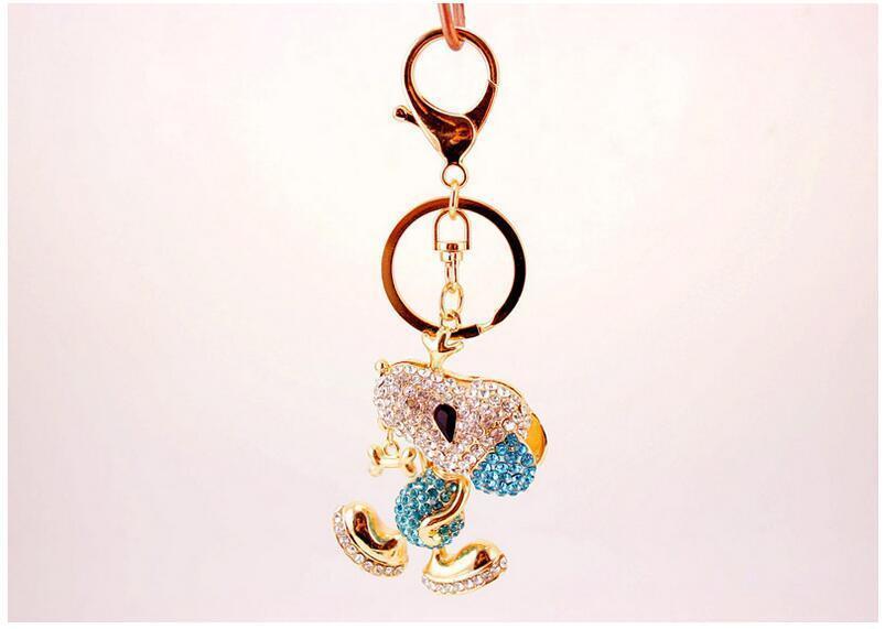 Cute Dog Cartoon Keychain Womens Girls Bag Charm Pendant Keys Chains Holder  Keyring Jewelry For Women Gift Keychains Gift Wedding Favor Frames Wedding  Favor ... 2e79f9a102
