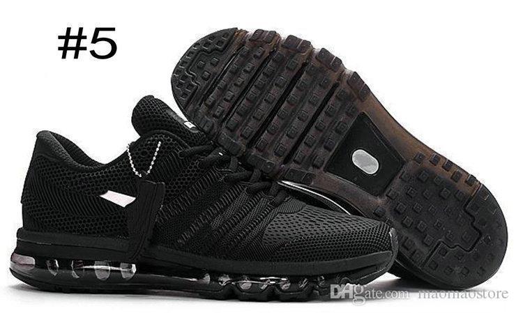 buy online 7fa18 f9679 Acheter Nike Air Max Airmax 2017 Kpu Top Qualité Maxes 2017 Hommes  Chaussures De Course BENGAL Orange Gris Noir Or Maxes 2017 KPU Coussin Sneaker  Hommes ...