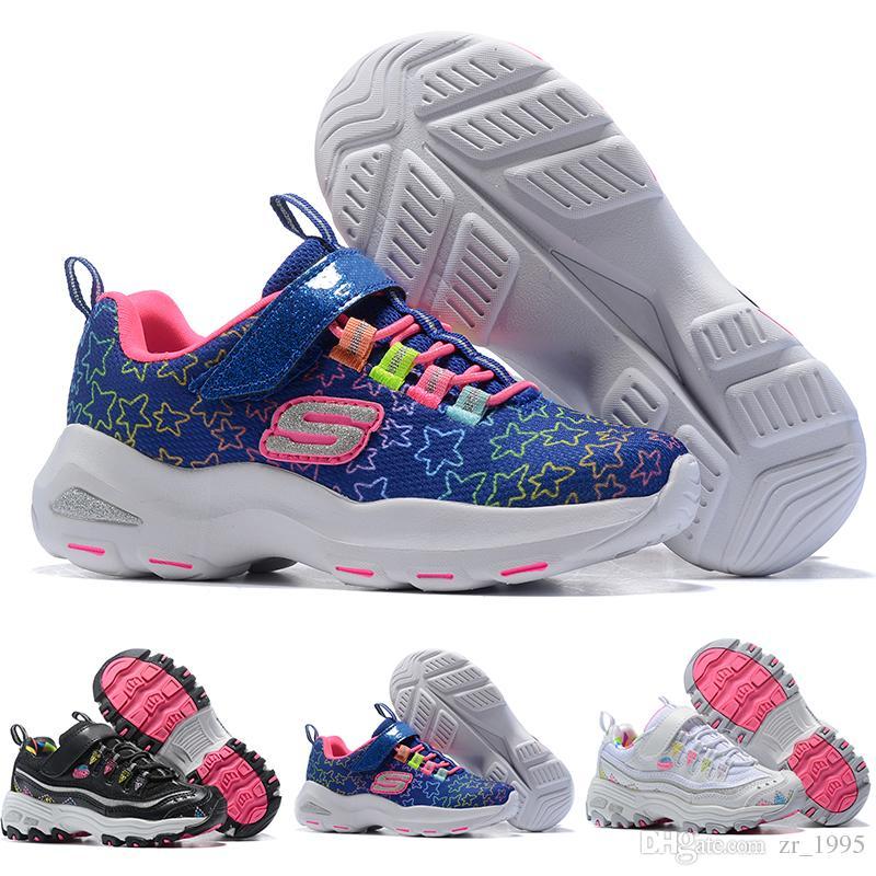 Acquista Skechers Kids 2018 Migliori Scarpe Da Corsa Bambini Kanye West  SPLY 350 Scarpe Da Corsa V2 Scarpe Da Ginnastica Bambini Ragazzi Ragazze Scarpe  Da ... 6218fecbe22