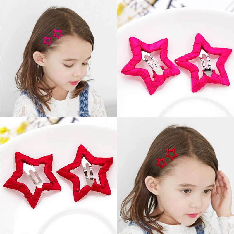 8d81e3475e9 Cute Girls Candy Colors Star Safety HairPins Children Hairgrips Baby Hair  Clips Headband Headwear Hair Accessories Starfish Hair Accessories Cute Hair  ...