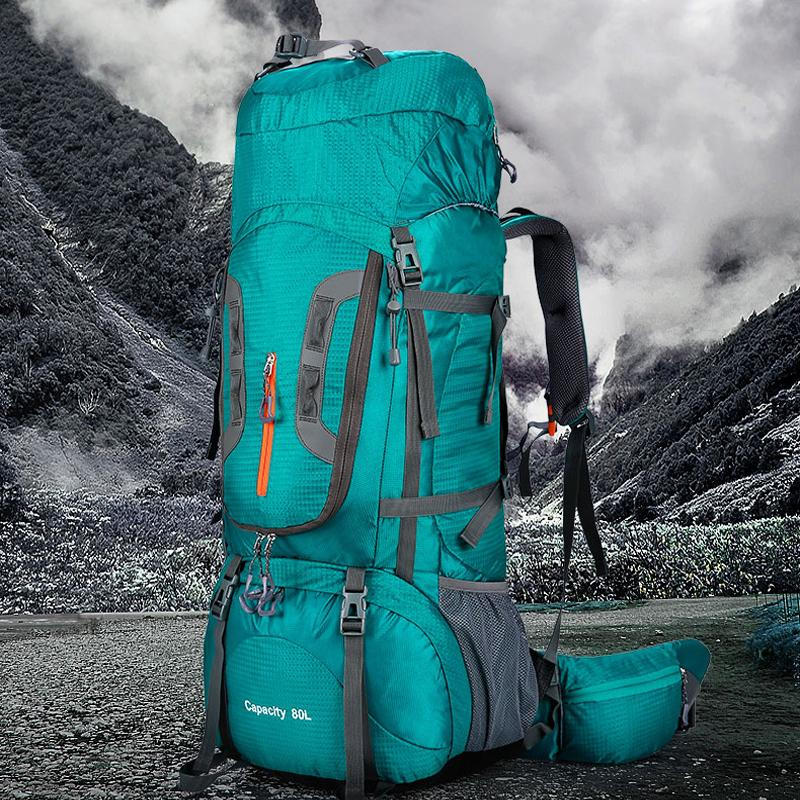 80L Large Capacity Winter Outdoor Trekking Camping Hiking Backpacks ... c4f756fce0179