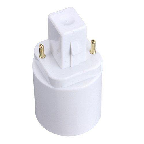 2 دبابيس أو 4 دبابيس G24 ذكر إلى E27 أنثى G24d G24q إلى E26 E27 محول حامل قاعدة المصباح الكهربائي