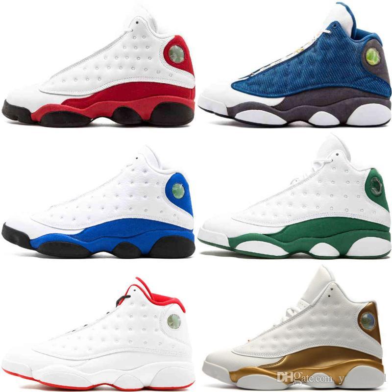 new style 827b1 fe0c5 Großhandel 13S Herren 13 Basketball Schuhe Sneaker Altitude Schwarze Katze  Chicago Bred Infrarot 23 DMP Hyper Royal Italien Blau Playoff Trainer Von  ...