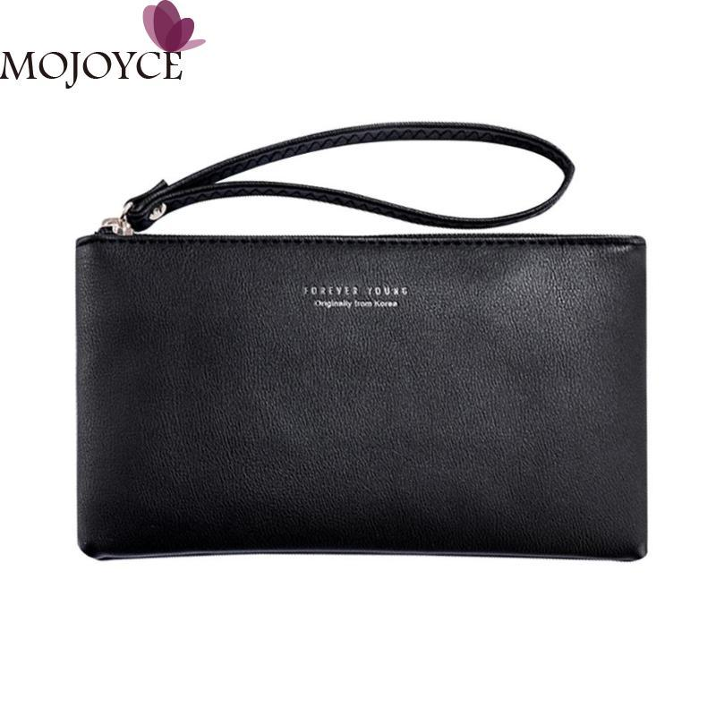 90b5ed9dff0 Women Clutch Bag Simple Black Pu Leather Crossbody Bags Enveloped Shaped  Small Messenger Shoulder Bags Female Shopping Handbag