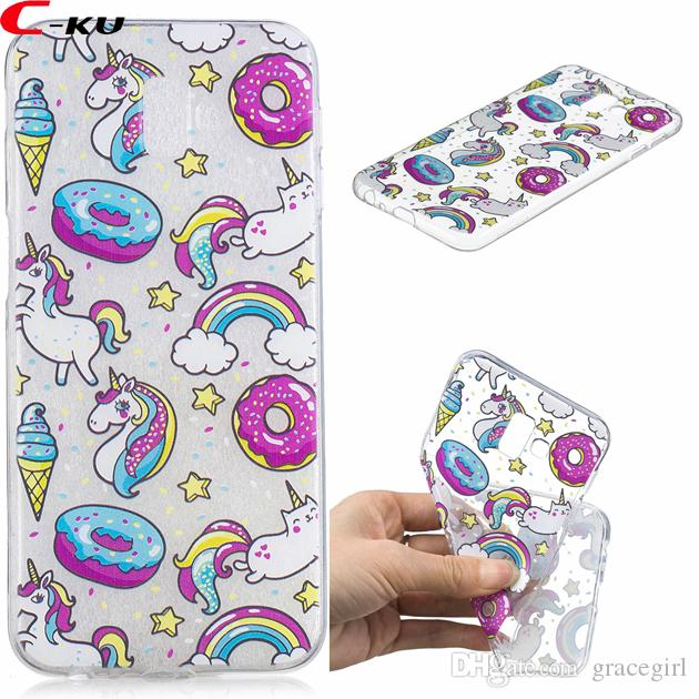samsung galaxy j6 phone cases unicorn