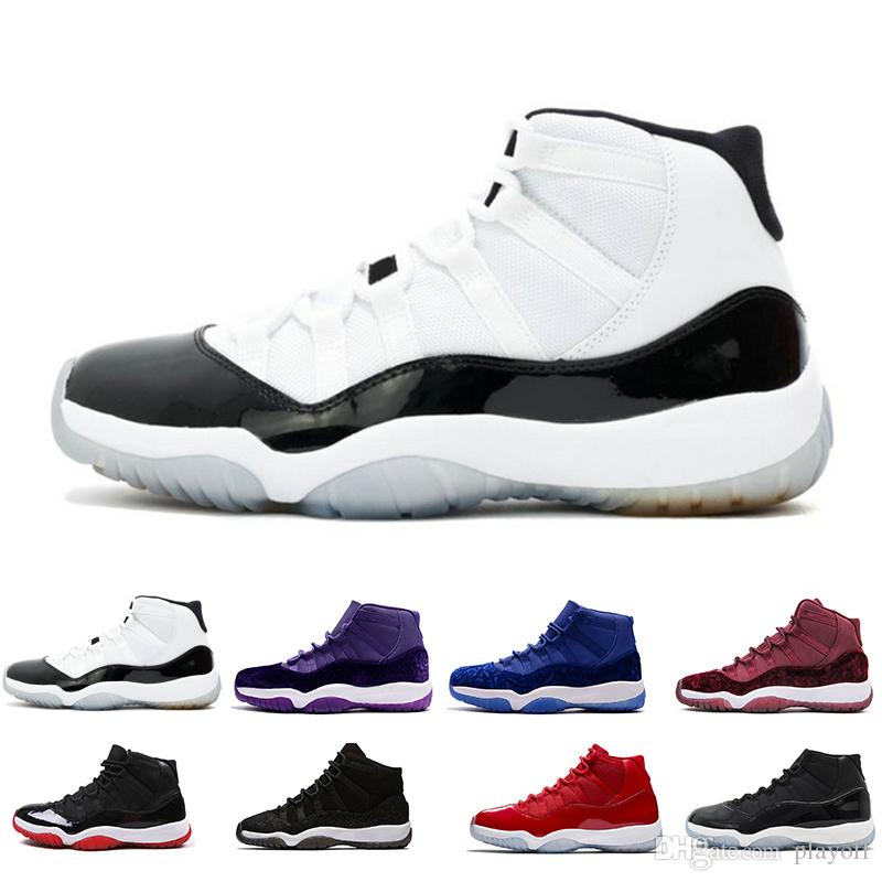 4562d09a4497dd 11 11s Gamma Blue Prom Night Basketball Shoes Platinum Tint Gym Red Bred  PRM Heiress Barons Concord 45 Platinum Tint Mens Sports Sneakers Basket  Ball Shoes ...