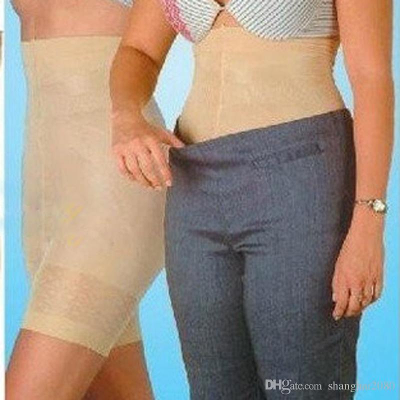Pantaloni di bellezza all'ingrosso pantaloni a vita alta controllo delle donne delle mutandine corsetto tute biancheria intima delle donne shapers fitness body shaper