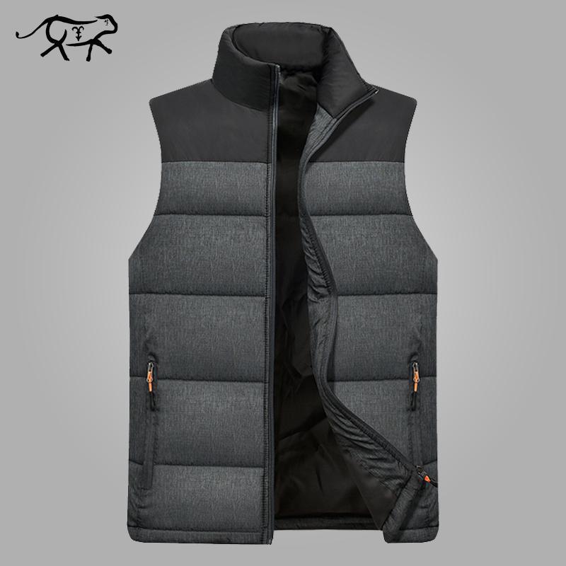 Großhandel Neue Mens Winter Sleeveless Jacke Männer Daunenweste Herren Warm  Thick Hooded Coats Männlich Cotton Padded Work Weste Gilet Homme Vest Von  ... a0c086a3d4