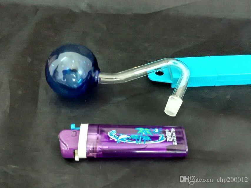 Color grande pote burbujeante, Venta al por mayor Bongs Oil Burner Pipes Water Pipes Glass Ripe Oil Rigs Smoking