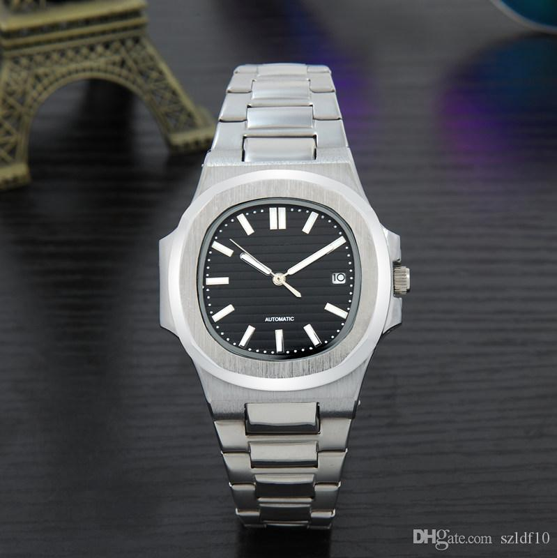 Relógio ocasional Famosa Marca de Quartzo-Relógio Das Mulheres Dos Homens khaki Pulseira De Couro Relógios de Pulso Relojes Montre Homme Erkek Kol relógio de Pulso CL18111