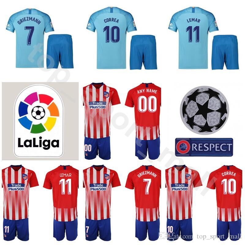 reputable site fe74c 223c0 coupon code for atletico madrid shirt antoine griezmann 7 ...