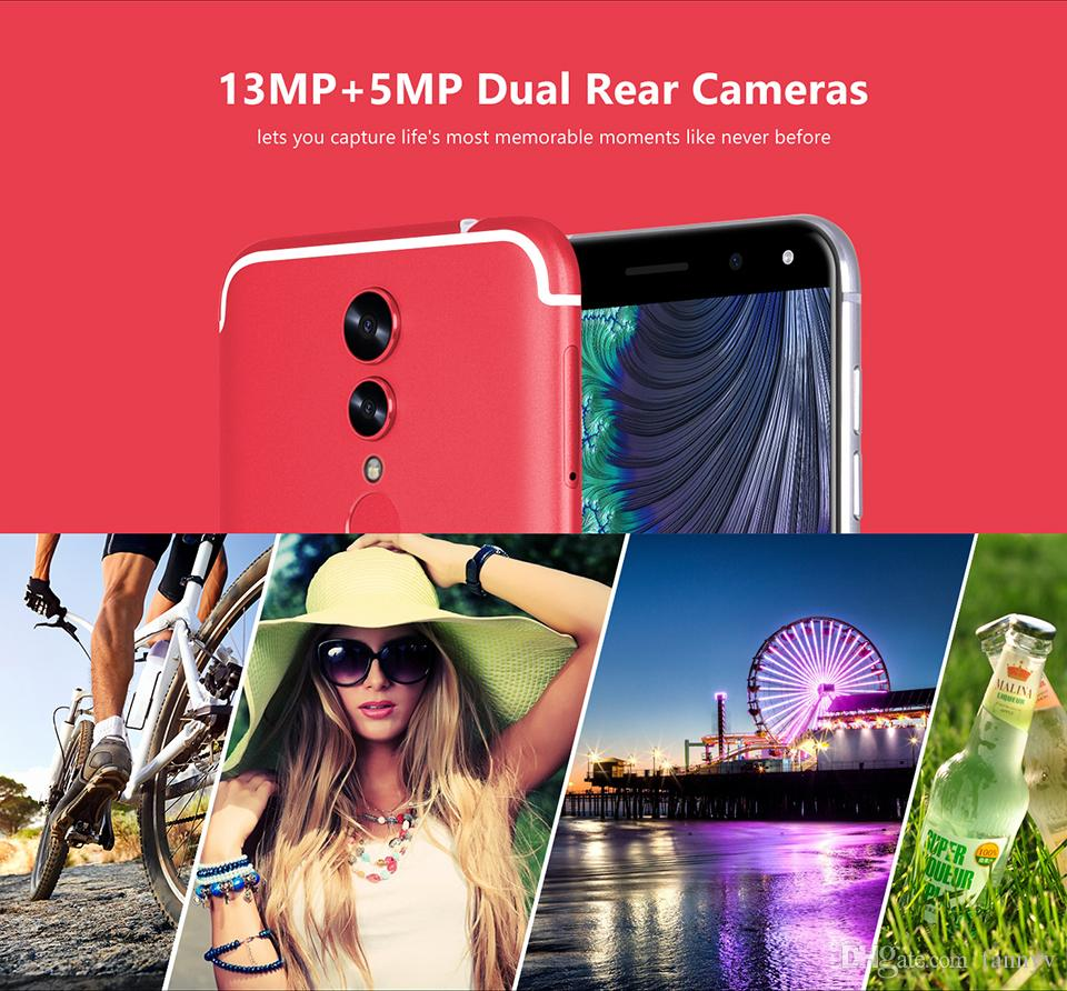 Fast 5.72 inch touch screen Finger print i8 GPS WIFI android 4G LTE smart cell phone 2GB+16GB