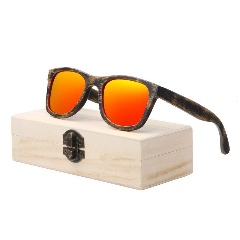 Acheter Berwer Wood Lunettes De Soleil À La Main En Bambou Lunettes De  Soleil Pour Hommes En Bois Lunettes De Soleil Pour Femmes Polarized Oculos  De Sol ... 76fb9b451def