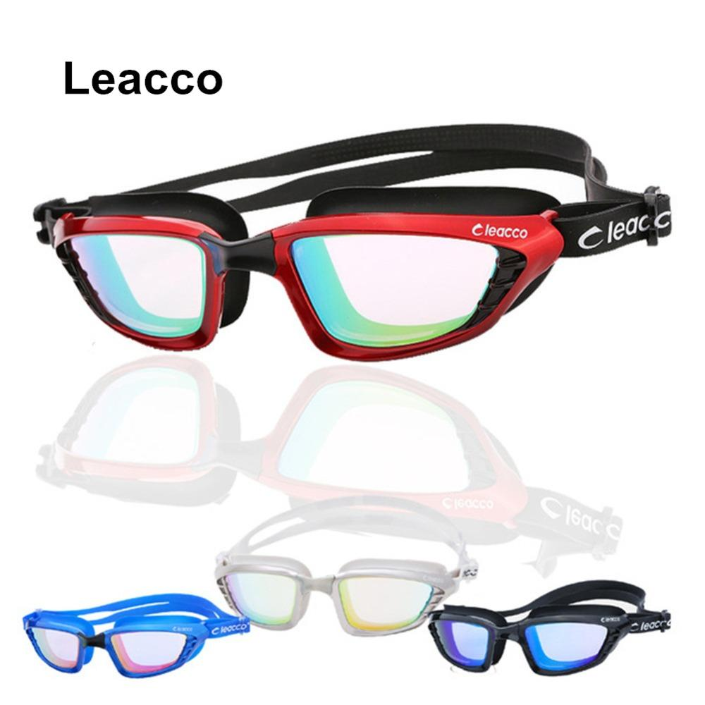e597ece45a7f 2019 Professional Electroplate Anti Fog UV Swimming Goggles Men Women  Silicone Waterproof Hd Glasses Big Box Integrated Eyeglasses From  Jersey168