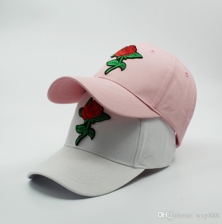 Compre 2018 Nueva Moda Gorras De Béisbol Rosa Gorra De Béisbol Snapback  Caps Sombreros Para Hombres   Mujeres Deportes Hip Hop Gorras De Hueso De  Sombrero ... fd8e624969e