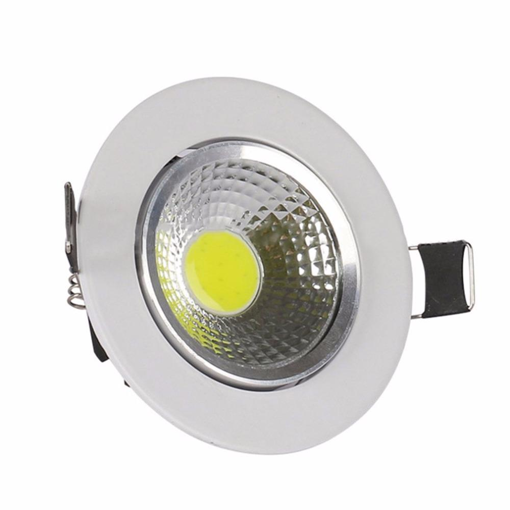 Led Downlight Indoor Cob Ceiling Light Spot Light 3w 85 265v Panel ...