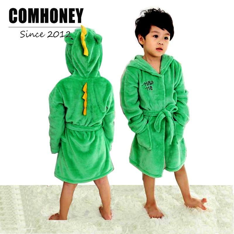 cd6825881a Girls Bathrobe Cartoon Animal Poncho Hooded Towel Children S Bathrobe For  Boys Sleepwear Christmas Reindeer Baby Beach Bath Robe Child Christmas  Pajamas ...