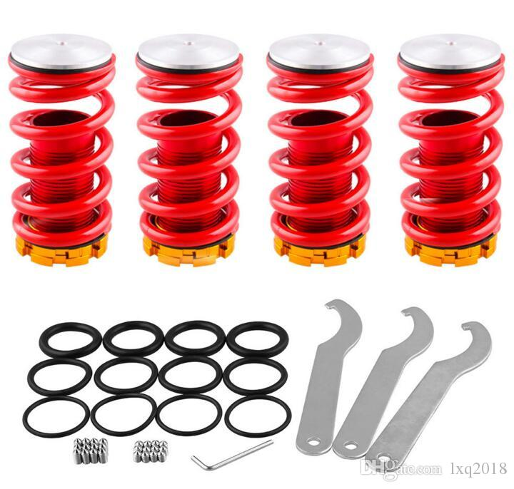 Forged Aluminum Coilover Kits For Honda Civic Ek Ge Red Available Coilover  Suspension / Coilover Springs Auto Parts Wholesale Auto Replacement Body  Parts ...