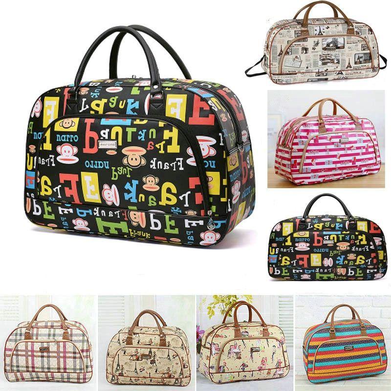 Duffle Bolsa Compra De Bag Mujer Impermeable Weekender Viaje Chica 6Zqxa4qAdw