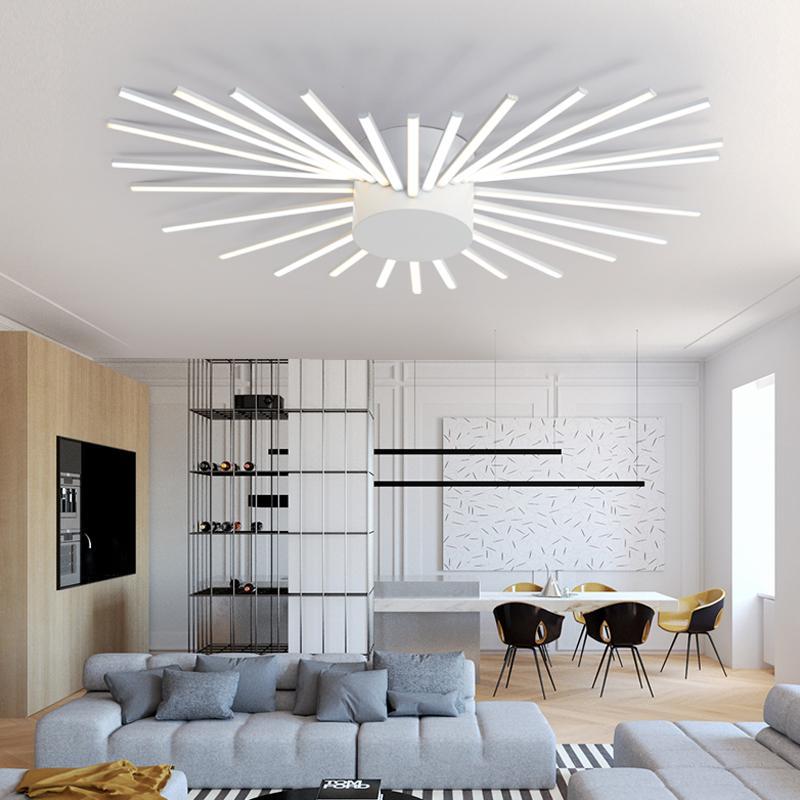 Acquista Plafoniere Moderne A LED Di Alta Qualità Soggiorno ...