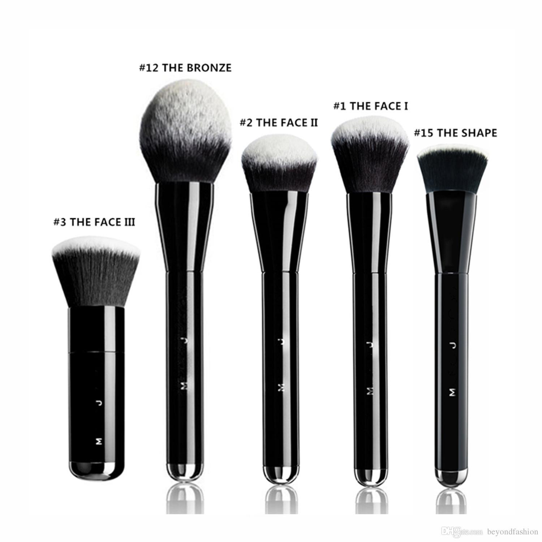 Brand Mkaeup Brushes M J The Bronze Bronzer Brush Face And Body Blending Powder Blush Contour Brush Kit Tools. Professional Makeup Professional Makeup Kits ...