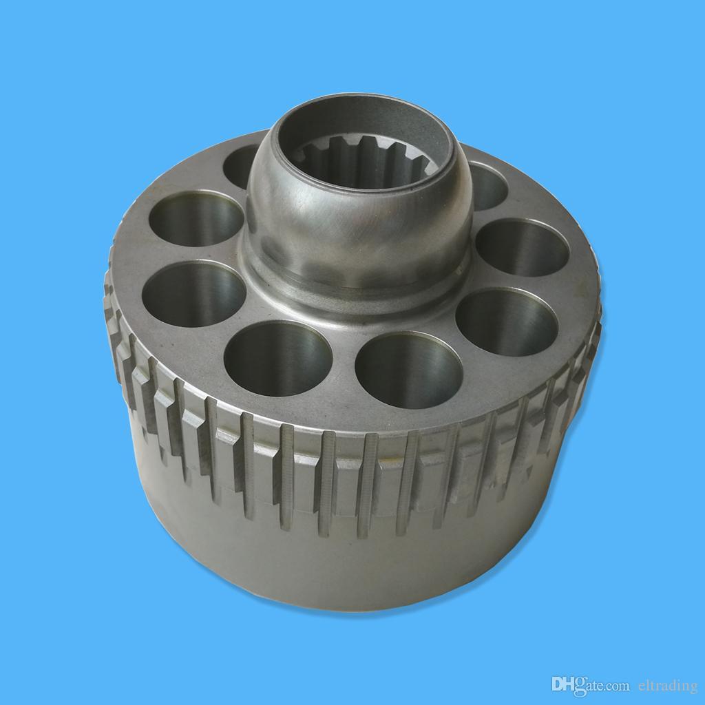 Kobelco Excavator SK160LC-6E SK170-8 SK170-9 SK200-6ES SK210-6E SK200LC-8  SK200SR Cylinder Block YN15V00025S111 for M5X130 Swing Motor